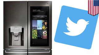Teen tweets from smart fridge after mom takes her phone