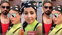 Hina Khan enjoys shopping with boyfriend Rocky Jaiswal in America; Check out | FilmiBeat
