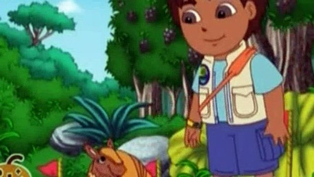 Go Diego Go S01E08 Armadillos Rainforest Race