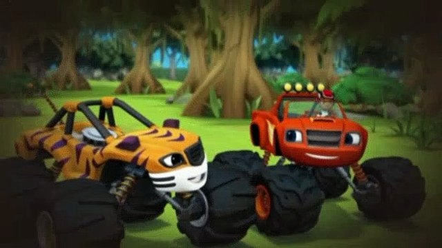 Blaze and the Monster Machines S01E08 The Jungle Horn