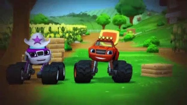 Blaze and the Monster Machines S01E11 Truckball Team Up