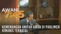Kemenangan Anifah Aman di Parlimen Kimanis terbatal