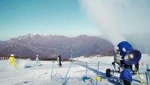 Centros de esquí de Santiago con cada vez menos nieve por el cambio climático