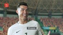 La nouvelle publicité malaisante de Cristiano Ronaldo