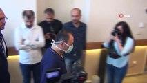 Bypass ameliyatı olan AKÜ Rektörü Prof. Dr. Mehmet Karakaş taburcu oldu