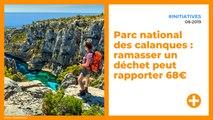 Parc national des calanques : ramasser un déchet peut rapporter 68€