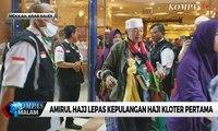 Jemaah Haji Gelombang Pertama Mulai Pulang ke Tanah Air