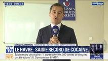 """Saisie record de cocaïne: """"C'est la plus grande saisie opérée cette année"""", déclare Gérald Darmanin, ministre de l'action et des comptes publics"""