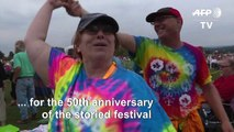 Celebrations kick off for 50th anniversary of legendary Woodstock festival