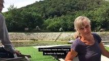 Besançon, passage très fréquenté  par les plaisanciers du Doubs