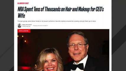 Report: NRA Spent Thousands On Hair Stylists For Wayne LaPierre's Wife