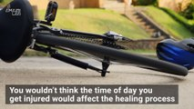 Study Finds You'll Heal Faster if Injured at this Time of Day