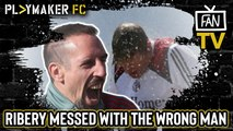 "Fan TV | ""A menace on and off the pitch"" - Remembering when Ribery dared to mess with Bayern's ""Titan"""