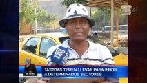 Cooperativas de taxis demandan seguridad en sectores de Guayaquil