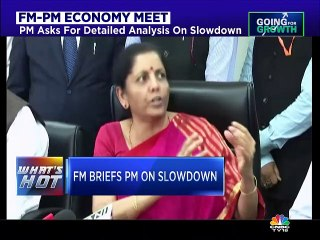 FM-PM Economy Meet: Discusses autos, realty & stock market