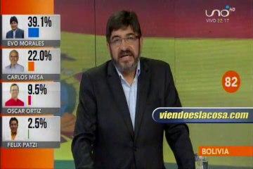 Ricardo Paz: Habrá segunda vuelta y Carlos Mesa será el ganador