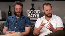 Seth Rogen & Evan Goldberg's advice for staying 'good boys'