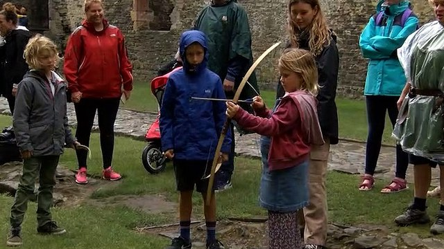 The Kids History Festival At Conwy Castle!