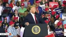Report: QAnon Supporters Told To Hide Q Signifiers At Trump's New Hampshire Rally