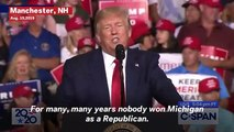 Trump Falsely Claims He Was Made Michigan's 'Man Of The Year'