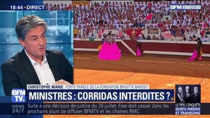 Corrida de Bayonne: polémique autour de la présence de deux ministres (2/2)