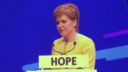 Sturgeon's speech