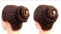 Bun Hairstyles For Gown Try This Bun Hairstyles For Gown
