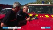 Incendie dans l'Aude : les pompiers maintiennent la vigilance