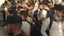 El Real Madrid aterriza en Vigo