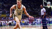 This Day in History: Larry Bird Retires (Sunday, Aug 18)