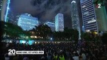 Hong Kong : les manifestants pacifistes et pro-démocratie se mobilisent