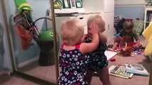 Babies Make Fun With The Mirror ★ Funny And Fails Videos