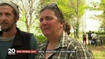 Reconversion professionnelle : une ancienne ingénieure et un ex-employé en couple investissent dans leur propre élevage de brebis