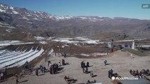 Ski resorts using artificial snow amid driest winter in 6 decades