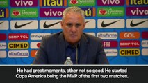 (Subtitled) 'Coutinho is a great player' - Tite