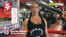 IFBB Pro Bodybuilder Maria Rita Penteado's Glute & Hamstrings Workout