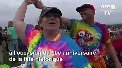 Début des célébrations pour le 50e anniversaire de Woodstock