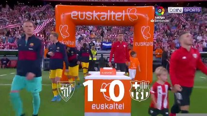 LaLiga 19/20 Match Highlights: Athletic Bilbao 1-0 Barcelona