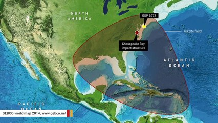 Asteroid Caused 25-Mile-Diameter Crater In Chesapeake Bay 35 Million Years Ago