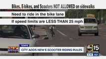Tempe approves changes to regulations for bikes, e-bikes and scooters
