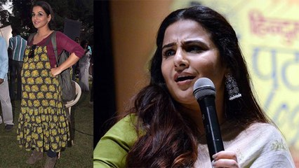 Vidya Balan breaks silence on her pregnancy news after Mission Mangal Success | FilmiBeat