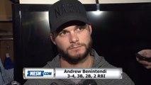 Andrew Benintendi On How He Has Turned Things Around This Season