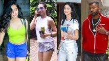 Janhvi Kapoor, Malaika Arora, Hardik and Krunal Pandya, Ananya Panday Spotted By Paparazzi