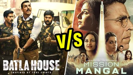 Akshay Kumar V/s John Abraham | Mission Mangal V/s Batla House At The Box Office