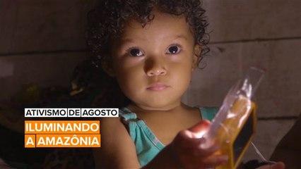 Ativismo de Agosto: Eugenio encontrou uma maneira de iluminar a Amazônia
