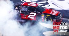 Reddick rallies from rear, burns it down at Bristol