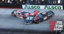 Frontrunners involved in early on-track incident at Bristol