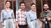 Alia Bhatt promotes Prada song with The Doorbeen; Watch Video | FilmiBeat