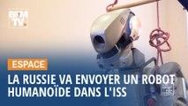 Ce robot humanoïde va être envoyé par la Russie dans la station spatiale internationale