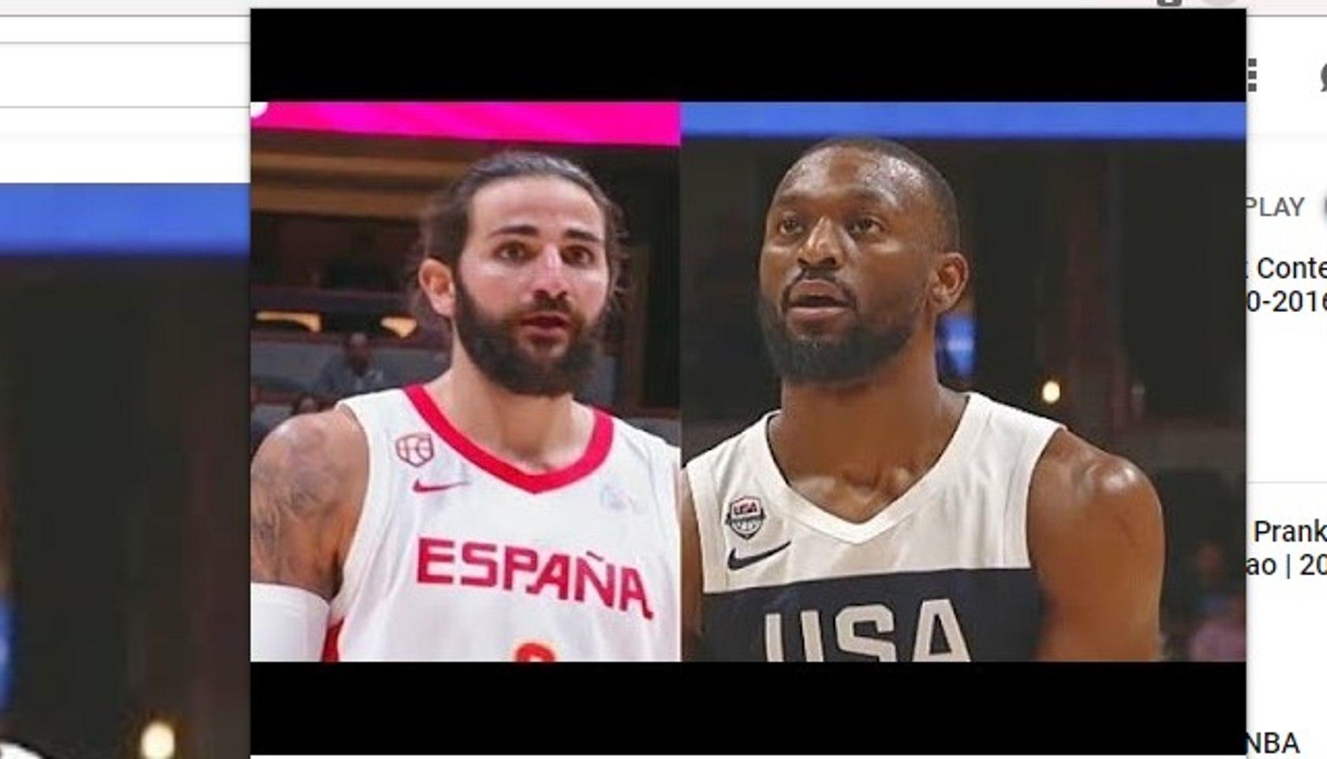 USA vs Spain Full Game Highlights Exhibition! 2019 Team USA Basketball